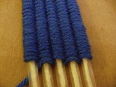 Drinking straw weaving loom. Never heard of this. Results are soooooo cool!