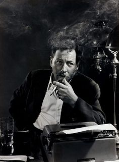 """Tennessee Williams, 1956 by Yousuf Karsh   """"I'm a poet. And then I put the poetry in the drama.  I put it in short stories, and I put it in the plays. Poetry's poetry. It doesn't have to be called a poem, you know.""""  — Tennessee Williams, interviewed by Dotson Rader, 'The Paris Review', fall 1981."""