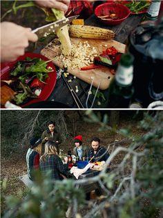 Thanksgiving in the mountains. Image via Kinfolk. #anthropologie #pintowin