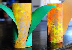 toilet paper tube corn
