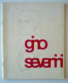 Gino Severini Exhibition Catalog, 1963 Designed by Benno Wissing