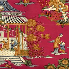 wallpaper too, Pierre Deux french country, available through Motif Designs