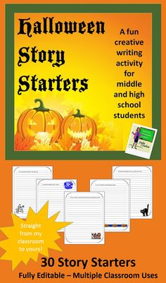 creative writing activity for middle school