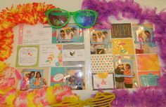 Project Life, Stampin' UP!, scrapbook layouts, Everyday Adventure Great times = Project Life by Stampin' UP! pages :) Happy Crafting, Dee