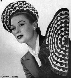 Pride 'n Joy Purse No. 791    go here http://www.freevintagecrochet.com/hats/pride-n-joy-hat-pattern.html for the hat pattern
