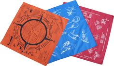 Survival, Knot, and First Aid Bandanas