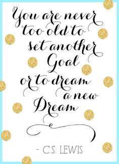 Keep dreaming.