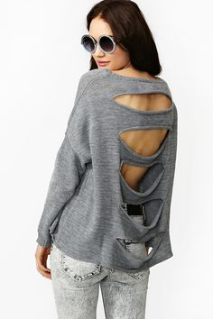 Ripped Knit in Clothes Tops at Nasty Gal