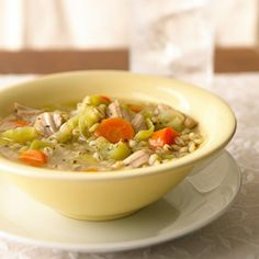 Chicken, Barley, and Leek Stew