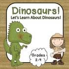 This is a great packet to use while learning about dinosaurs. It includes:  A dinosaur word wall  Dinosaur posters  A dinosaur book for students to ma...$