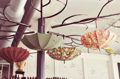 Into indoor umbrellas