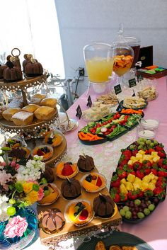 food ideas for a tea party
