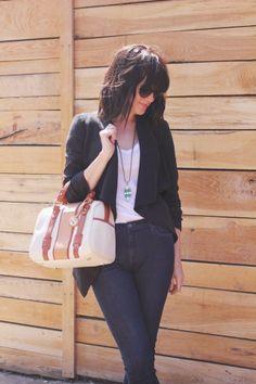waist jean, blazer, 449 bag