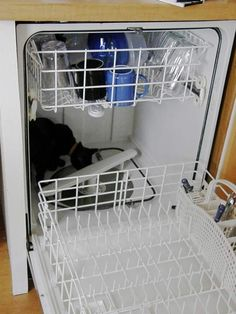 Save time by using your dishwasher to wash things other than dishes. | 24 Survival Tips For Living Alone