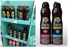 Sunscreen for men (click thru for a reluctant defense)