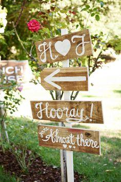 wedding signs-Ruffled