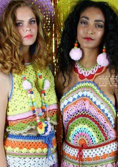 Katie Jones #Crochet #Fashion