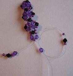 How to make a beaded bracelet. Bracelet 3 - Step 4