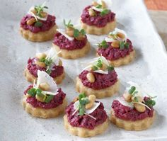Parmesan Shortbreads With Beet Pesto Recipe | from Hors D'Oeuvres cookbook | House & Home