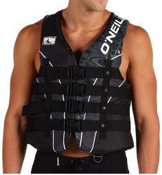 O'Neill Superlite USCG Vest (Medium) Quick Release Buckles 3 Panel Life Vest