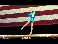 Megan Skaggs - Beam - 2012 Visa Championships - Jr. Women - Day 2