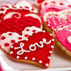 Valentine's Day cookies! #LOVE