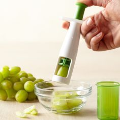 Tired of cutting up grapes? We think this Oxo Grape Cutter is such a time saver for the parent of toddlers! #babygear #toddler #toddlerfood