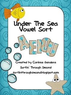 Under The Sea Long and Short Vowel Sort