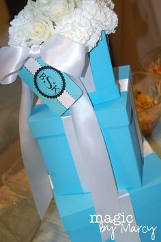 "Photo 2 of 27: tiffany's inspiration / Bridal/Wedding Shower ""Tiffany's Themed Briday Shower"" 