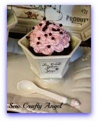 Sew Crafty Angel: A Little Blue and A Lot of Chocolate