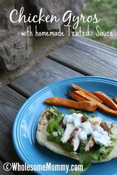 REAL Food FAST: Chicken Gyros