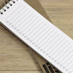 long list notebook