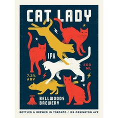 Bellwoods Brewery Cat Lady / doublenaut