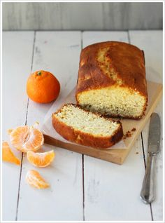 Clementine-Vanilla Quick Bread