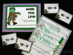Around the Kampfire: Number Line Math Fun with FrankenLine!