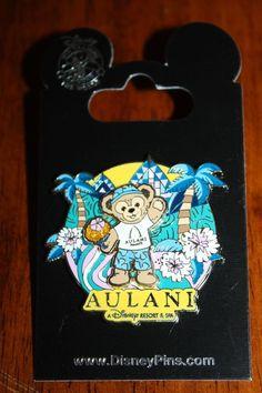 New Disney Aulani Hawaii 2014 Duffy Bear Pin Disney Parks Authentic Aloha bear pin, duffi bear, disney parks, park authent