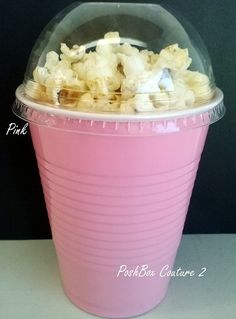 Pink Popcorn Boxes Baby Shower Ready to Pop by PoshBoxCouture2, $9.00
