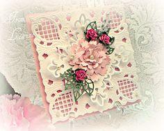 Stamping A Little Sunshine: Marianne Design Corner Die... handmad card, mariann die, anja corner, marianne designs, corner die, paper crafts, mariann design, beauti card, design corner