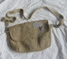 Residing in Africa My Heart Jute Bag by PreciousGoons on Etsy, $25.00