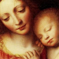 {New Blog Post} Singing Ave Maria #Catholic #RCIA #Mary #Mother   Madonna and Child, Bernardino Luini