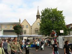 Another market view, Bury St. Edmunds