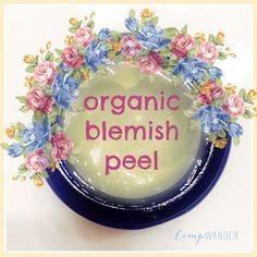 Organic Blemish Peel Recipe