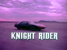 Knight Rider~ David Hasselhoff~ 1982-1986