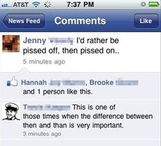 Grammar is important!