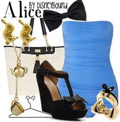Alice by disneybound