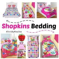 Shopkins bedding is