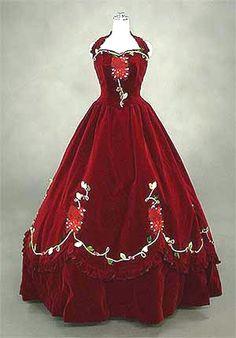 Hello Kitty red wedding dress