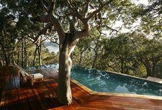 pretty beach-side guesthouse in Sydney, Australia