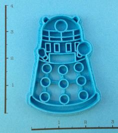 Doctor Who Dalek Cookie Cutter. $6.50, via Etsy.