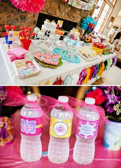 Cute & Colorful Disney Princess Birthday Party